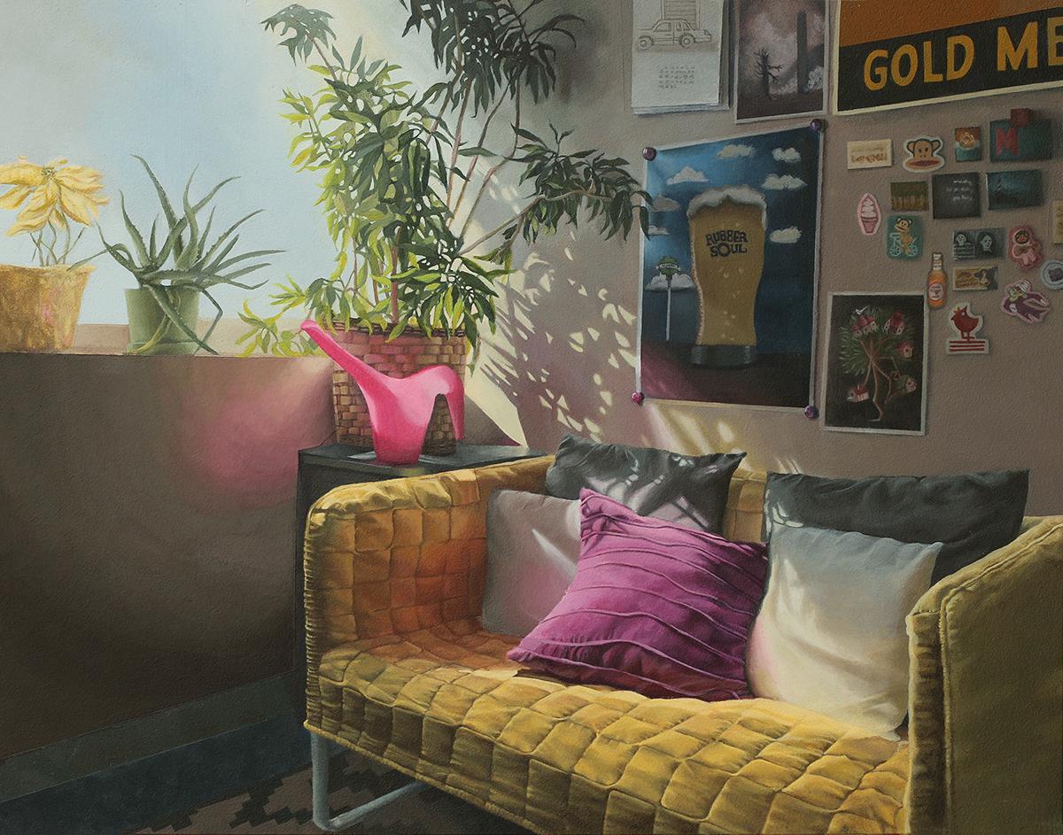 Mary's Office Painting by Kelly Kautz